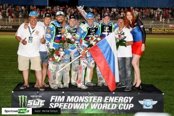 Россия выиграла полуфинал командного чемпионата мира по спидвею
